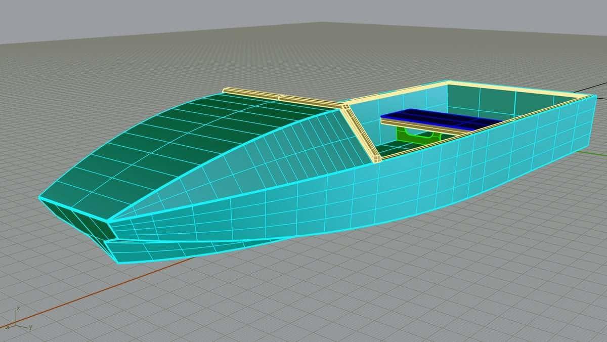 Noosa - 3.4m plyboat