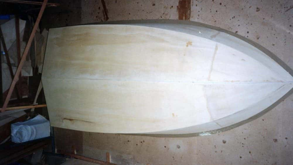 Plywood hull