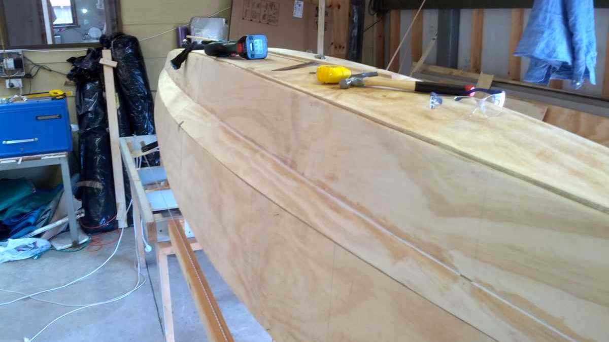 Skills required – building a boat.