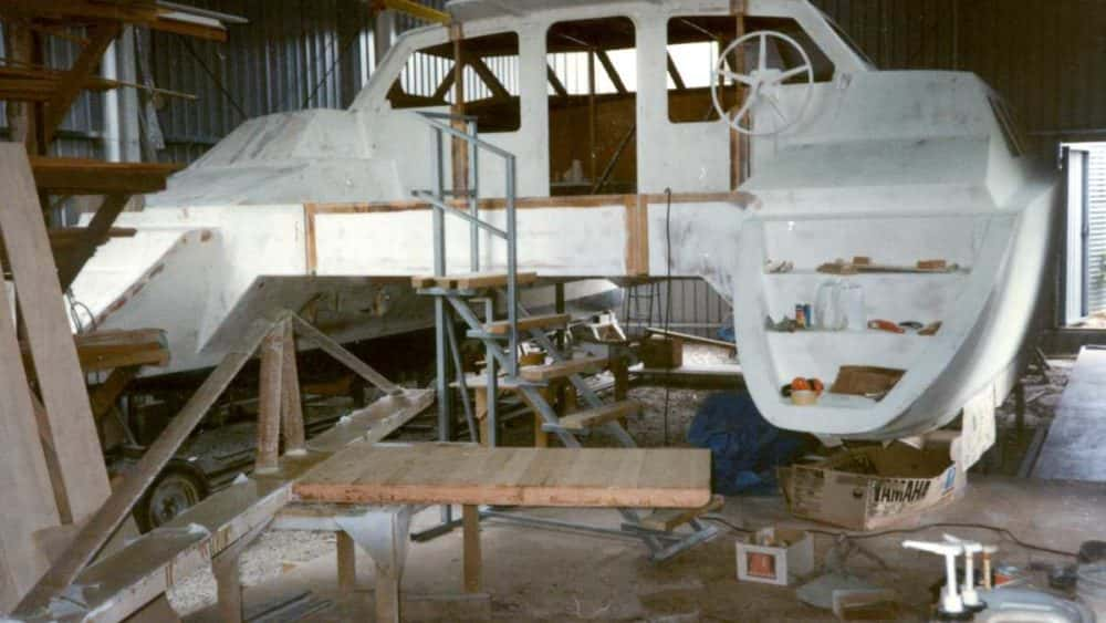 The build - Tim Weston Boats