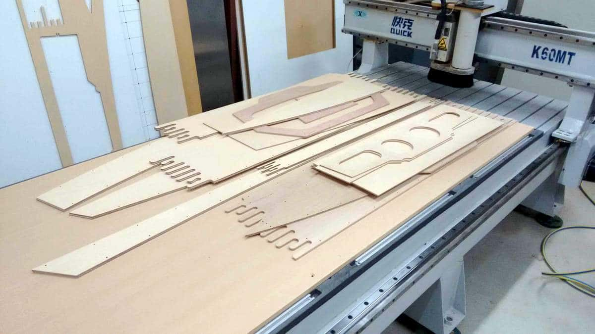 Boat building with a CNC router - Tim Weston Boats