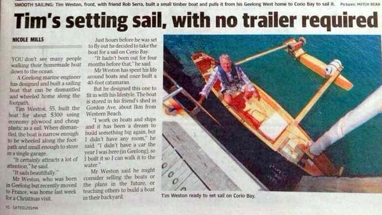 my boat article copy