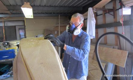 Keeping safe – while building your boat