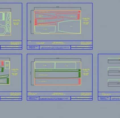 CNC boat drawings