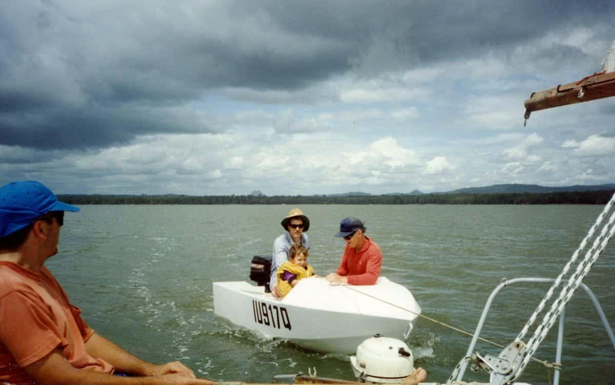 Sailing in Geelong