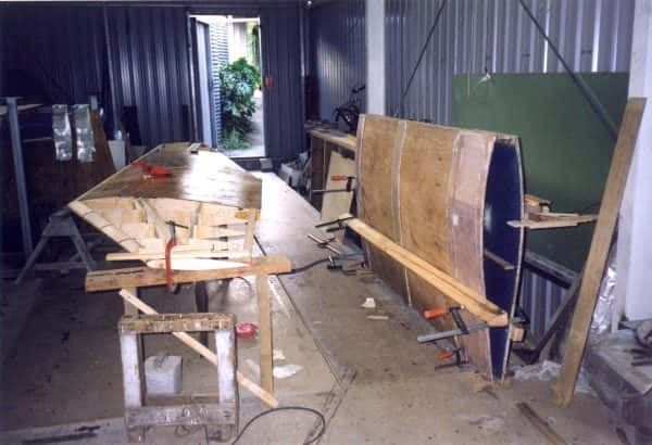 Building a daggerboard and case