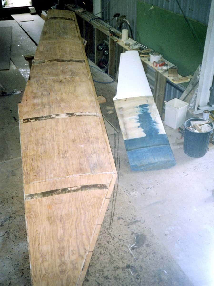 large daggerboard vs small