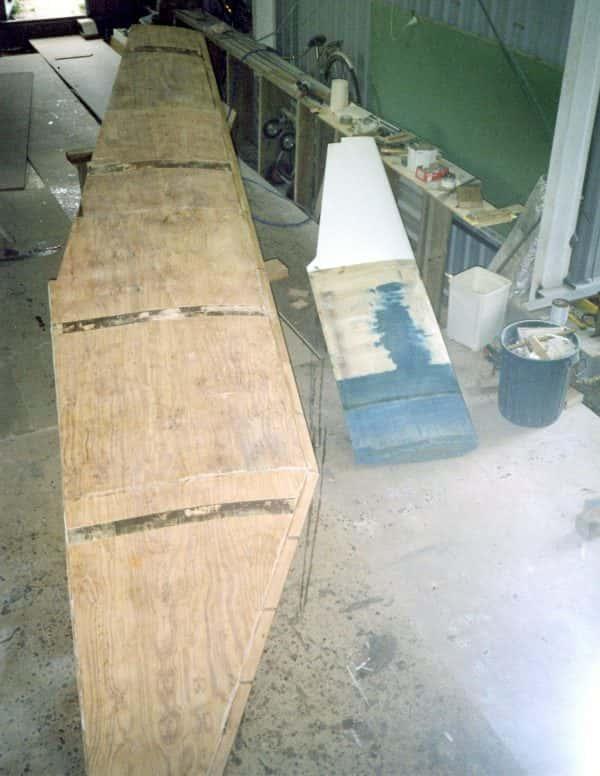 Single Daggerboard Plans